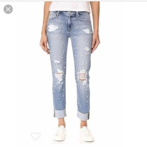 Joes's Jeans Smith pearl embellished 28